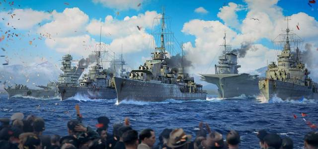 Desfile naval virtual de World of Warships