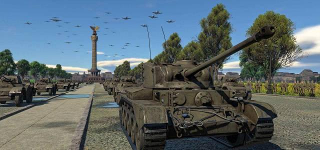 War Thunder el desfile de la Victoria