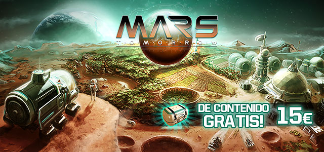 Mars Tomorrow 15€ Gratuitos